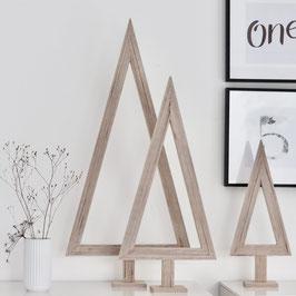 """Stylisches Set Weihnachtsbaum """"Tanne natur"""""""