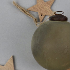 """Weihnachtsbaumkugel """"stone look""""  Ø 10 cm"""