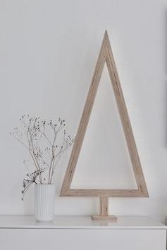 """Stylischer Weihnachtsbaum """"Tanne natur"""""""