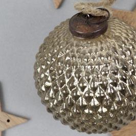 Weihnachtsbaum-kugel gold Ø 10 cm