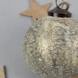 """Weihnachtsbaum- kugel """"cracked ice"""" Ø 10 cm"""