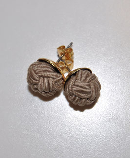 Earrings Champagner