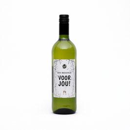 Wijn Wit Bedankje voor jou