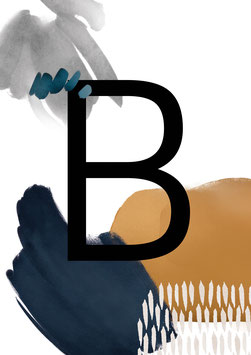 """Poster """"Letter"""" style B"""