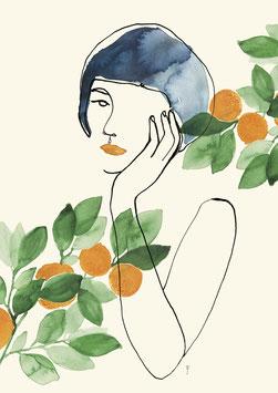 """""""Orangenmädchen"""""""