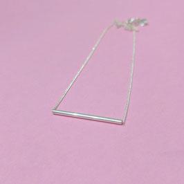 Silberkette mit zartem stab
