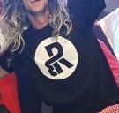 RDB Kreis Logo T-Shirt in Schwarz mit Neon Kreis