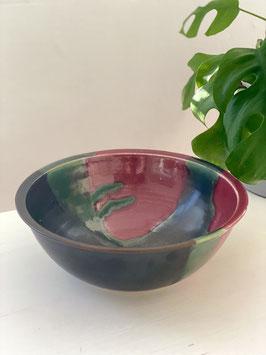 Porridge Bowl anthrazit/rot/grün
