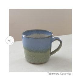Espresso Tasse mint/hellblau