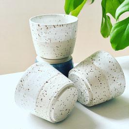 Spots Espresso Tasse weiß