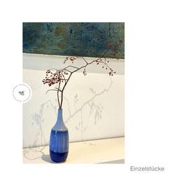 Vase blau/hellblau 02