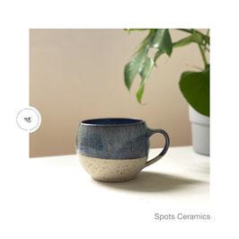 Spots Cups m. Henkel 01 blaugrau