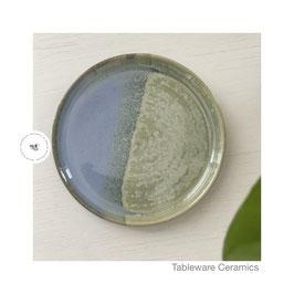 Unterteller für Espresso Tasse mint/hellblau