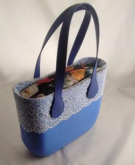 4a-Bag Mini mit Spitze Hellblau