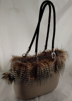 4a-Bag Mini Beige Pfau