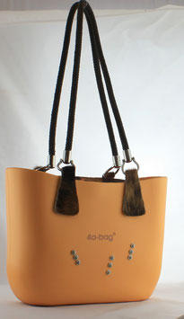 4a-Bag Mini mit Strassnieten Sonnengelb