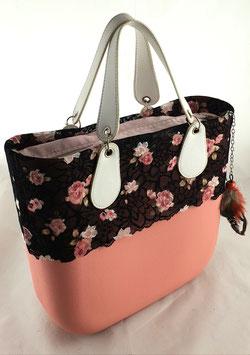 4a-Bag Classic mit Spitze Rose