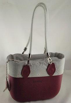 4a-Bag Mini Blume Weiss
