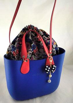 4a-Bag Mini Mickmaus & Minimaus Blau
