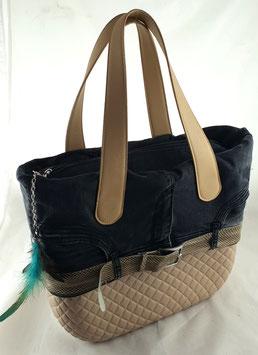 4a-Bag Classic Beige Raute