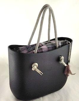 4a-Bag Mini Rosa Kariert