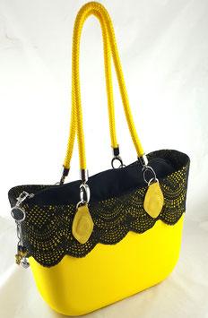 4a-Bag Classic mit Spitze Gelb