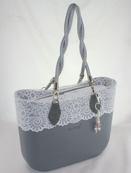 4a-Bag Classic mit Spitze Grau