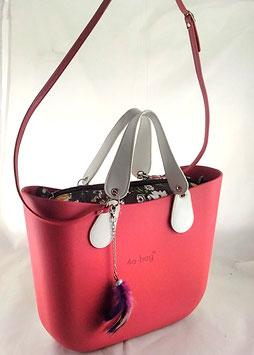 4a-Bag Classic Rot Blumen