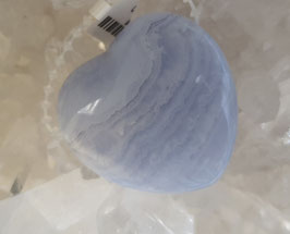 Chalcedonherz blau (gb)
