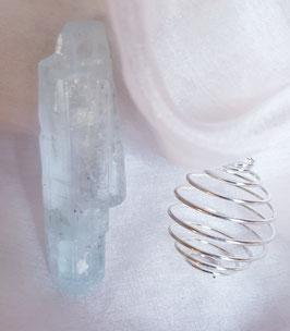 Spirale (silberfarben)