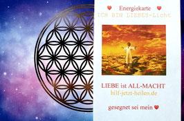 Liebeslicht-Energiekarte