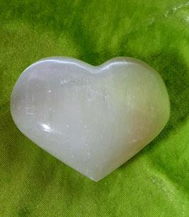 Selenit-Herz