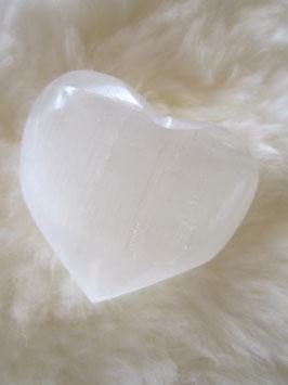 Selenit-Herz (klein)