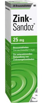 Zink Sandoz ® 25 mg