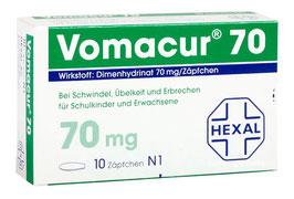 Vomacur ® 70 mg Zäpfchen
