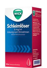 WICK Schleimlöser 6 mg/ml