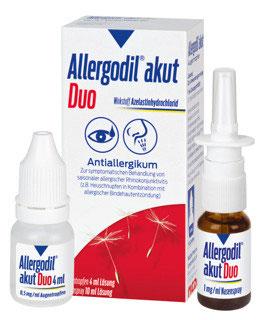 Allergodil ® akut Duo