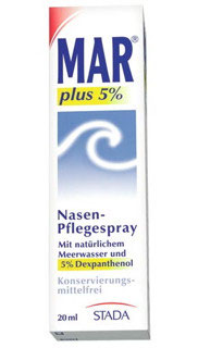 MAR ® plus 5 % Nasen-Pflegespray