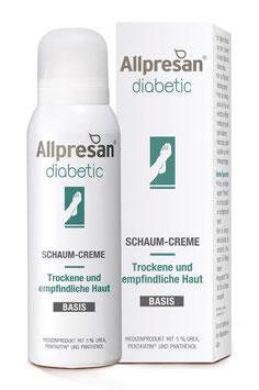 Allpresan ® diabetic Fuß Schaum-Creme Basis