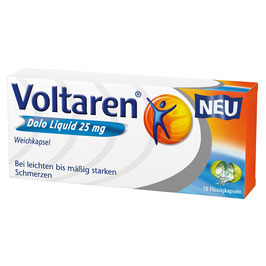 Voltaren ® Dolo Liquid 25 mg (10)