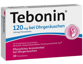 Tebonin ® bei Ohrgeräuschen