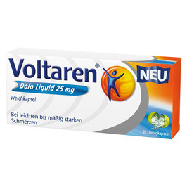 Voltaren ® Dolo Liquid 25 mg (20)