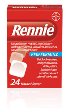 Rennie ® Pfefferminz