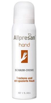 Allpresan ® Hand Schaum-Creme 5% Urea