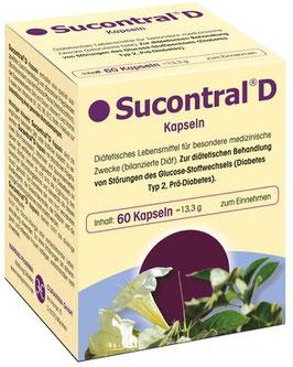 Sucontral ® D Diabetiker Kapseln (60)
