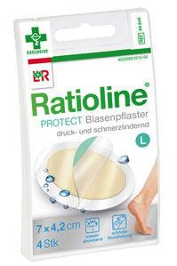 Ratioline ® Blasenpflaster 6 x 3,8 cm (5)