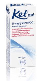 Ket ® med Shampoo (120)