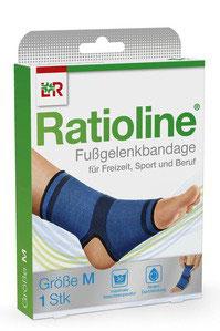 Ratioline ® Fußgelenkbandage