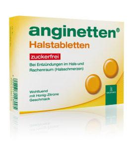 anginetten ®  Halstabletten zuckerfrei