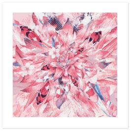 """ASIA IN THE MIX"" - Pattern of Earth, Fine Art Print, 50x50 cm (Außenmaß), Limitierte Sonderedition"